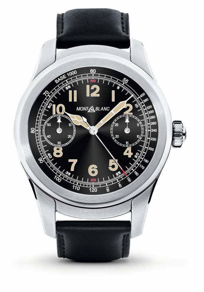 Montblanc Summit Smartwatch, Montblanc smartwatch