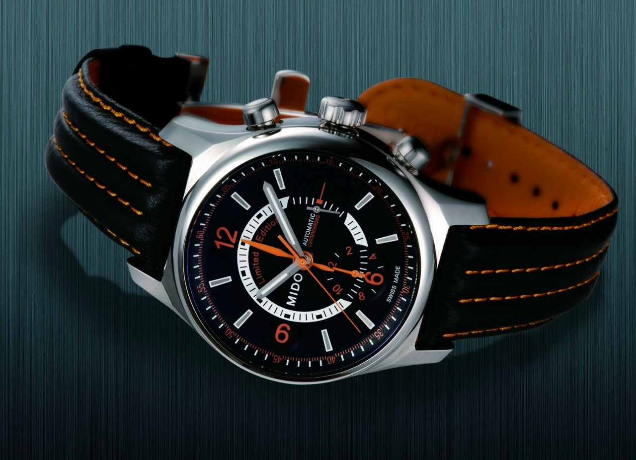 Mido - Mido Multifort Center Chronograph Multicenter2