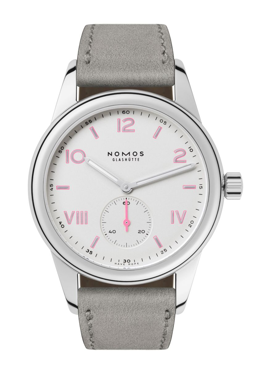 NOMOS Club Campus for Breast Cancer Awareness, NOMOS Breast Cancer Awareness