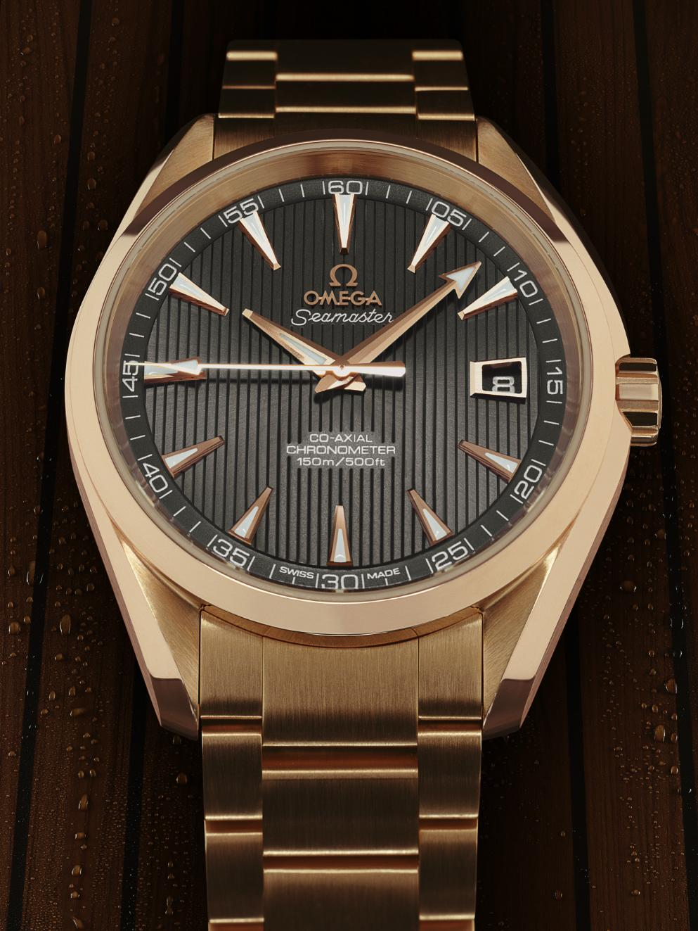 News : Nouvelle Collection Omega Seamaster Aqua Terra Oat1