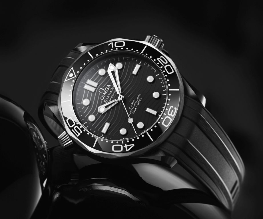 Omega Seamaster Diver 300M Black Ceramic, 300M Black Ceramic, Seamaster 300M-C, Seamaster 300MC, 210.92.44.20.01.001, Omega 210.92.44.20.01.001
