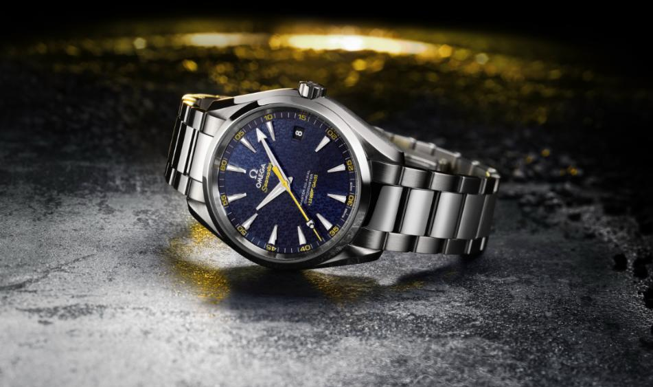 Omega Seamaster Aqua Terra 150M James Bond Omegabond15b