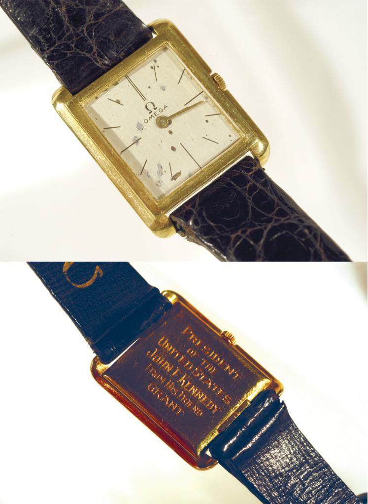 La montre de Kennedy achetée par ... OMEGA ! Omegajfk1