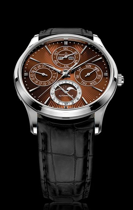 ONLY WATCH 2019 - Jaeger‑LeCoultre Master Ultra Thin Perpetual Enamel Chestnut
