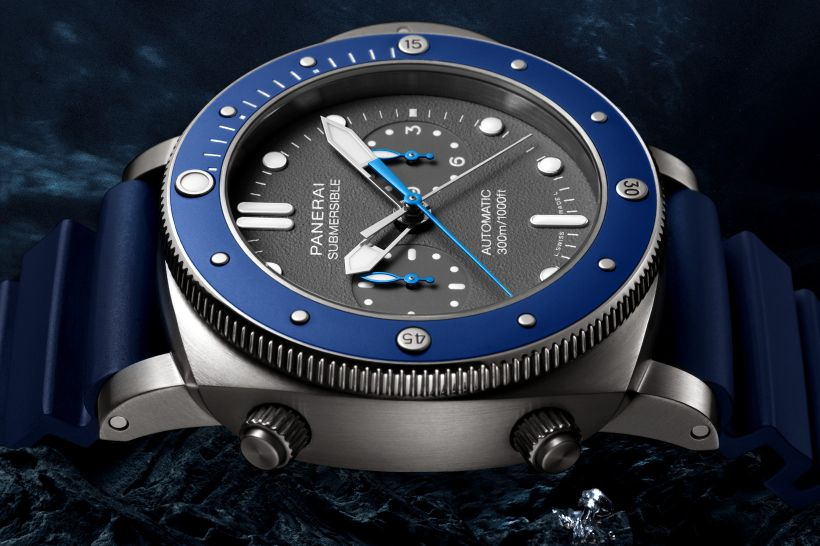 Officine Panerai Submersible Chrono Guillaume Néry, Panerai Nery