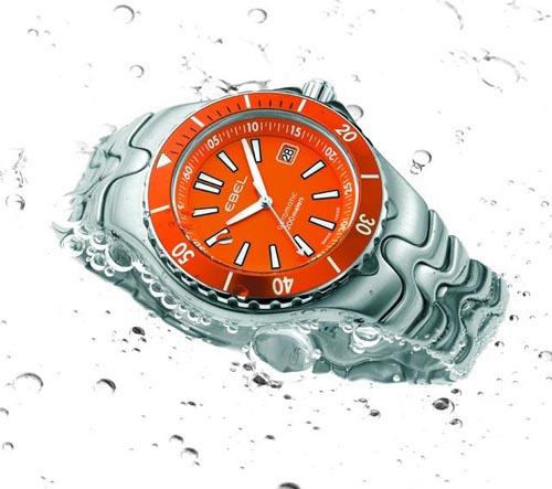 EBEL : Nouvelle montre de plongée Orangediver