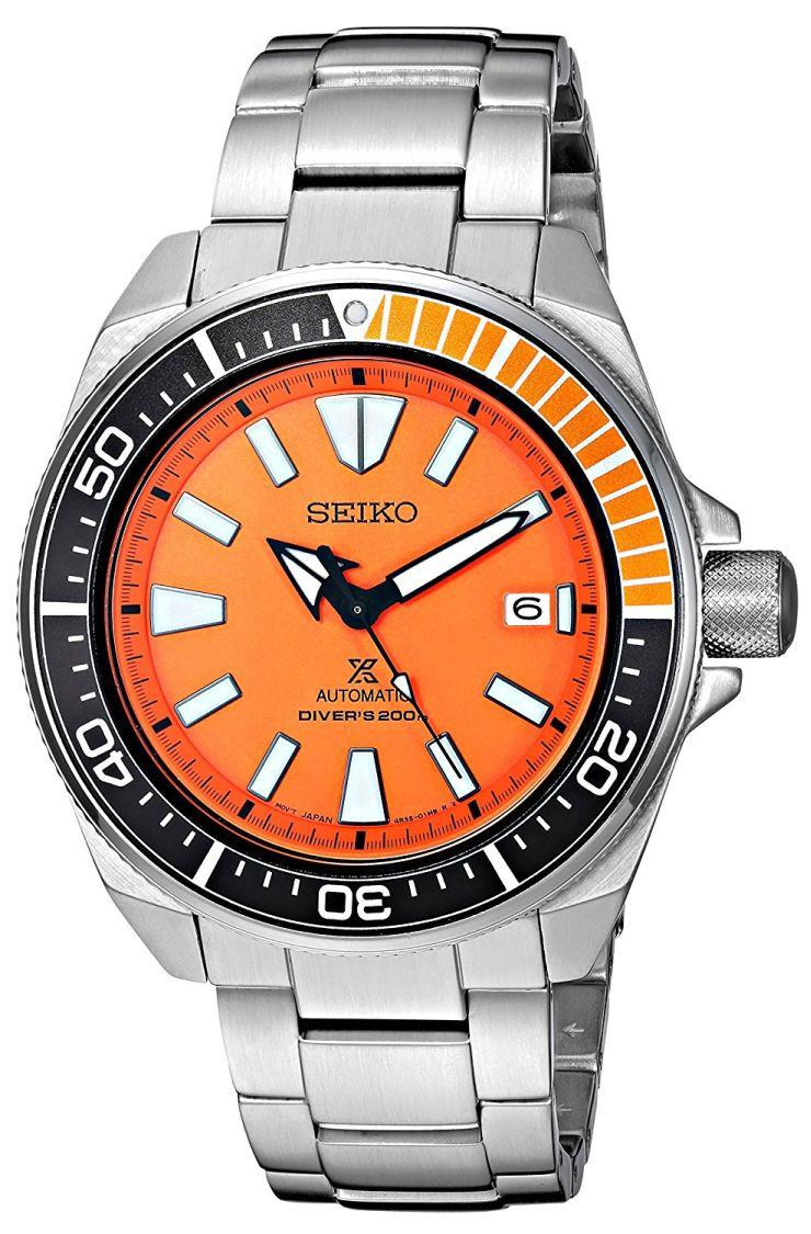 New seiko samurai orange diver watch freeks - Orange dive watch ...