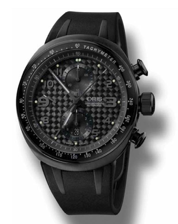 News : Oris TT3 All Black Chronograph Orisblack