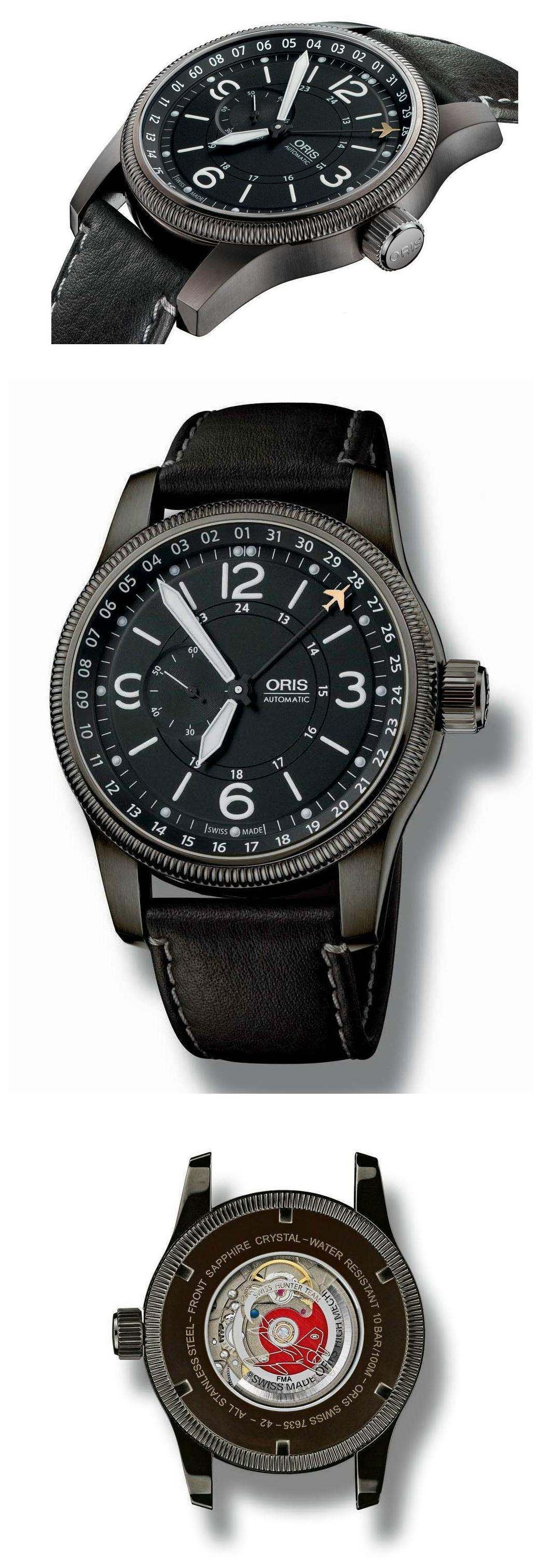 News : Oris Swiss Hunter Big Crown Orishunter