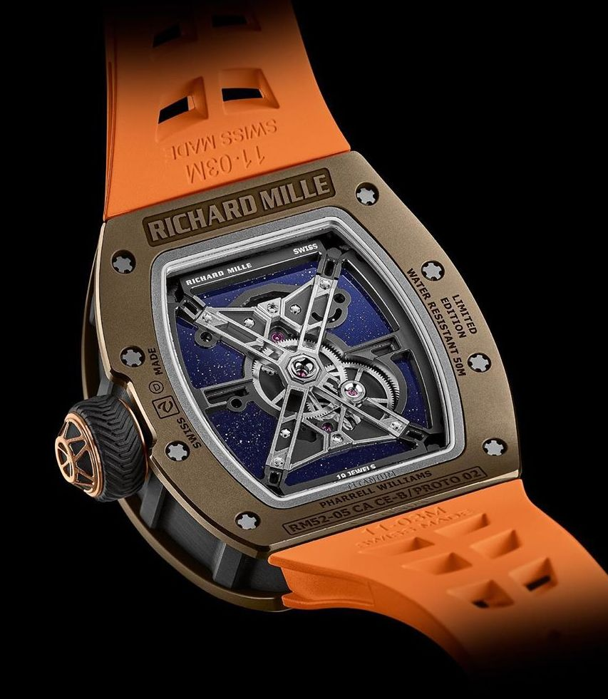 Richard Mille RM 52-05 for Pharrell Williams, Richard Mille RM 52-05, Richard Mille Pharrell Williams, Richard Mille Pharell, RM52-05, Richard Mille RM52-05