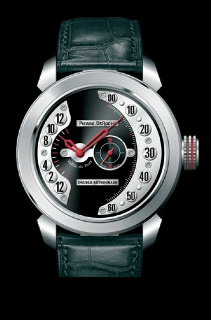 Well-Done Double Retrograde From Pierre DeRoche: New Brand On The Scene Watch Releases