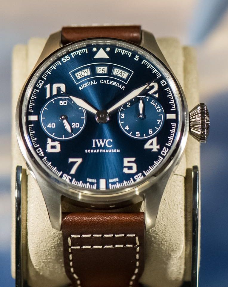 TimeZone   IWC » INDUSTRY NEWS - IWC Auction of