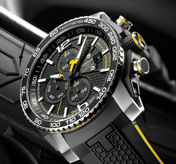 Neue Uhr : Tissot PRS 516 Extreme Chronograph