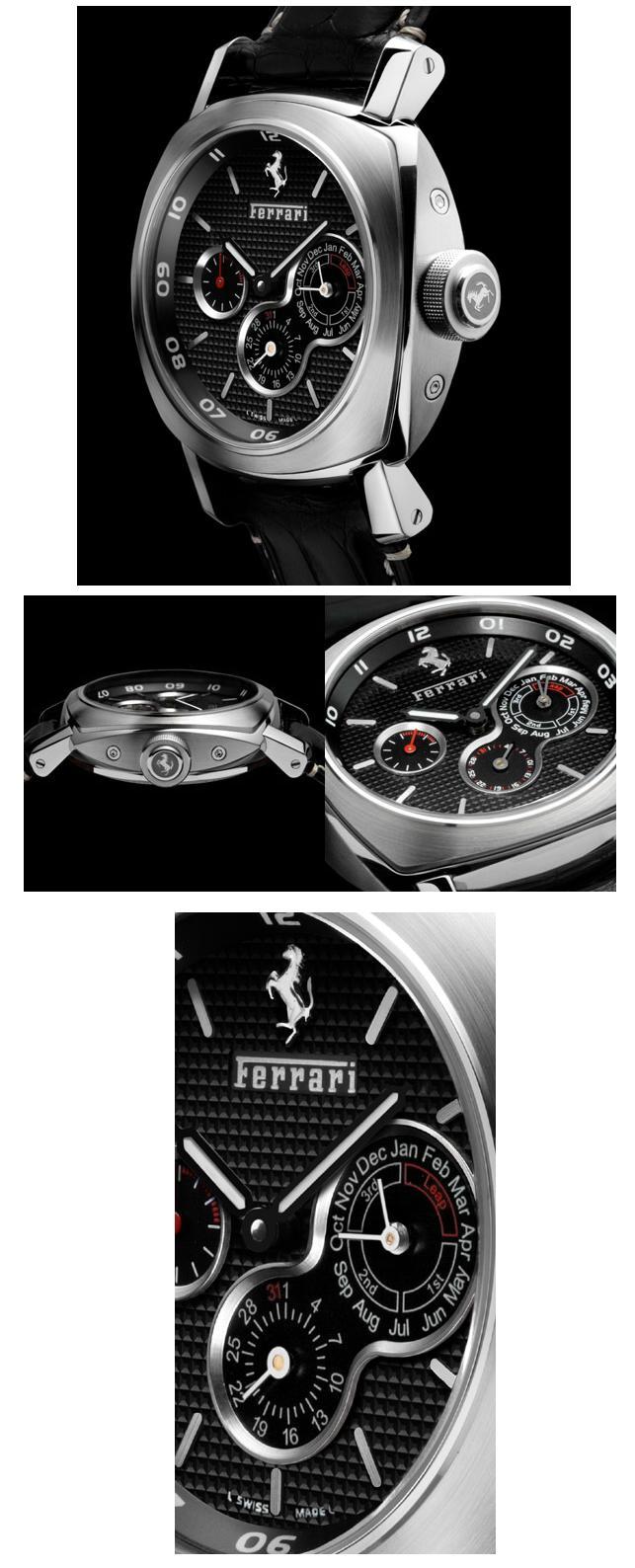 panerai - News : Panerai Calendrier Perpétuel pour Ferrari Qppan