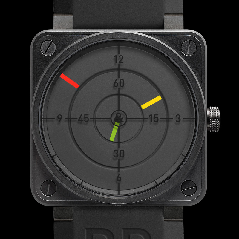 News : Bell and Ross Instrument BR 01-92 Radar Radar1