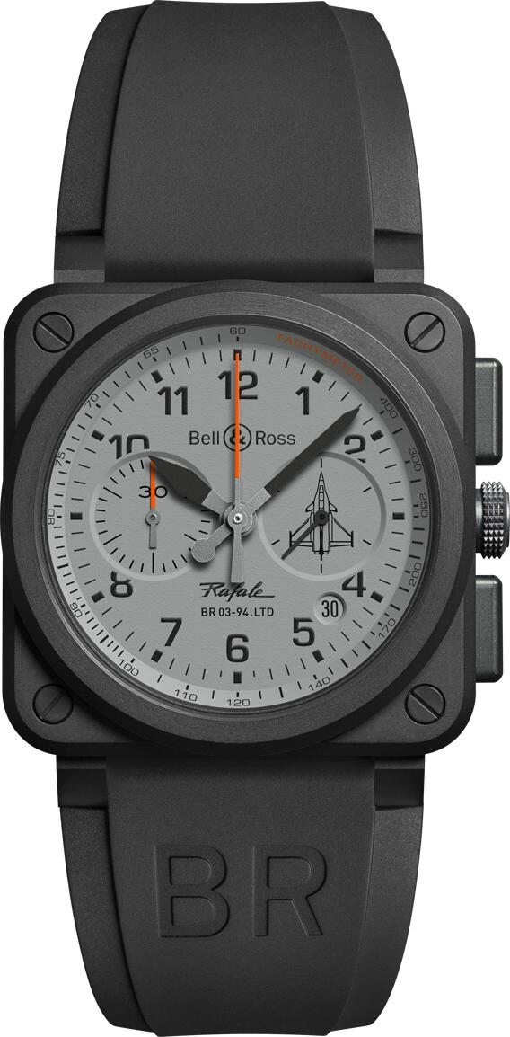 neue uhr bell ross br03 rafale chronograph uhrforum. Black Bedroom Furniture Sets. Home Design Ideas