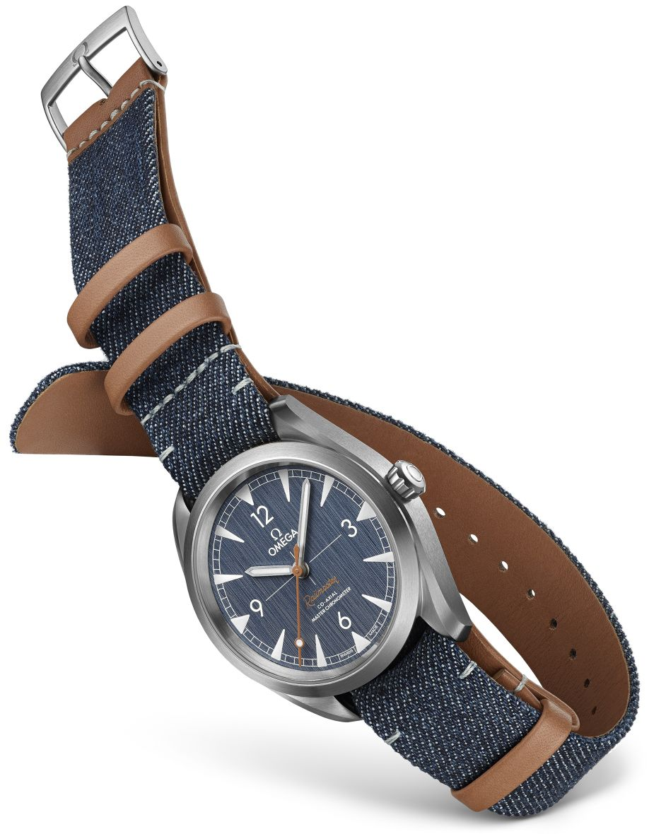 Omega Denim Railmaster, Railmaster Denim