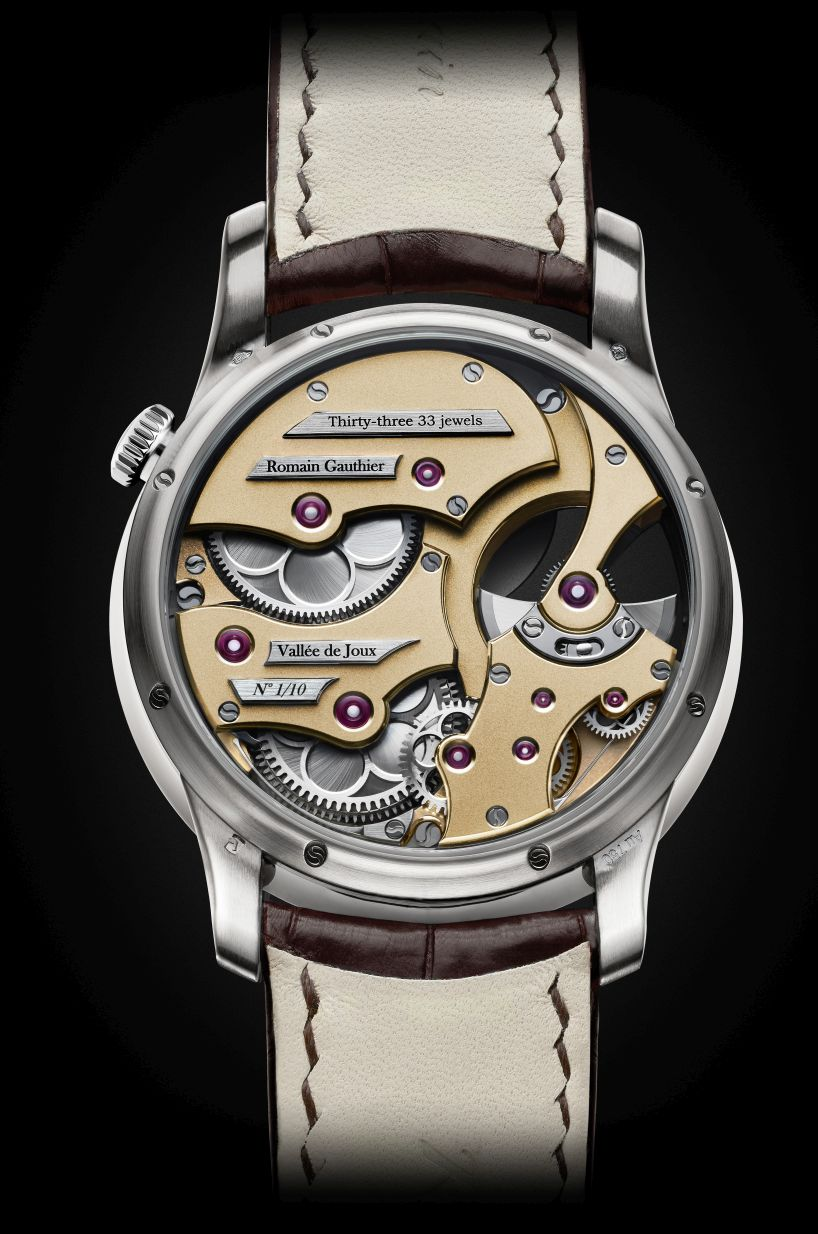 Romain Gauthier Insight Micro-Rotor, Romain Gauthier Insight Micro-Rotor White Gold