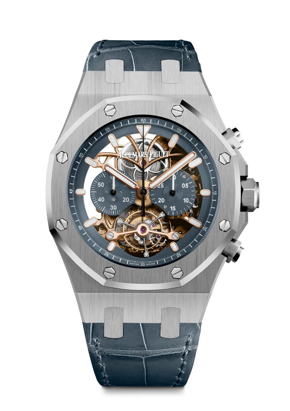 Audemars Piguet Royal Oak Tourbillon Chrono Openworked, Audemars Piguet SIHH 2016, Royal Oak Tourbillon Chrono Openworked, APRO Tourbillon Chrono Openworked