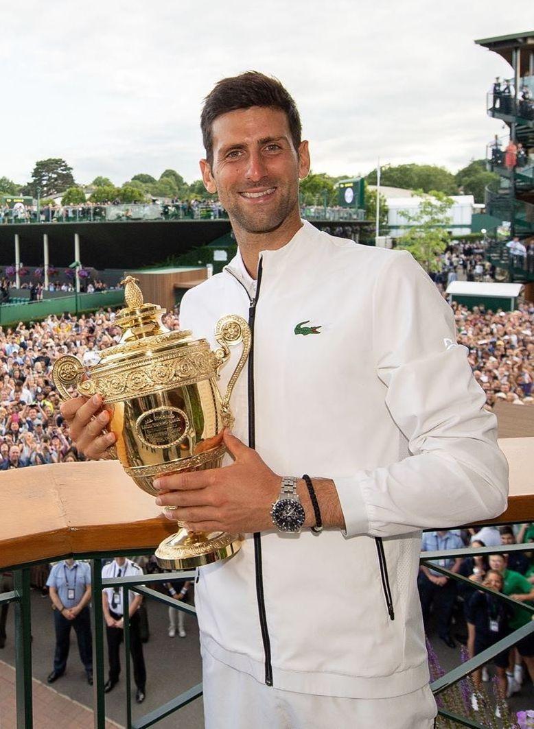 Seiko congratulates Novak Djokovic Seikojoko2
