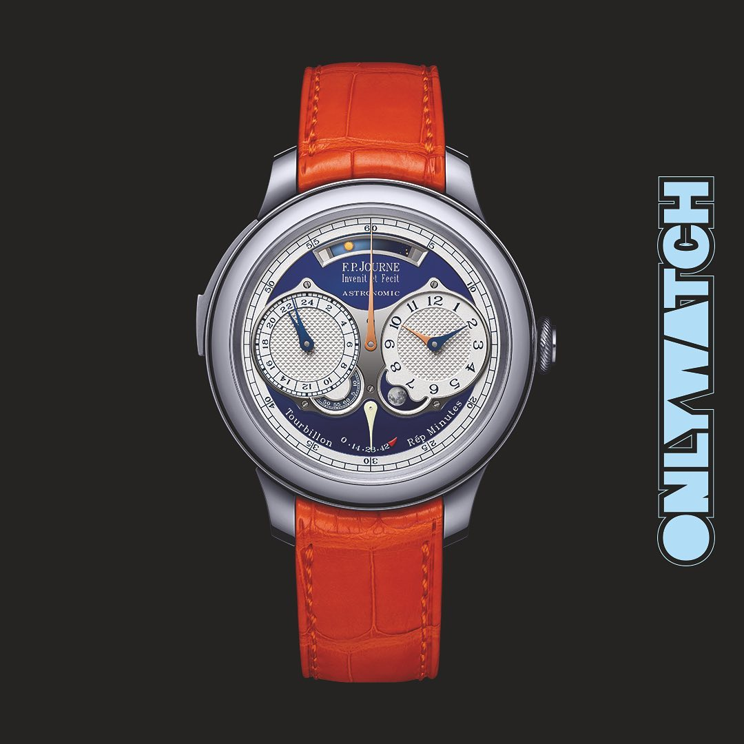 F.P. Journe Astronomic Blue Only Watch, FP Journe Only Watch, FPJ Only Watch, FPJ Astronomic Blue