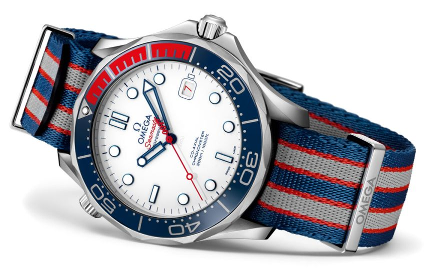 Omega Seamaster Commander's Watch, Omega 007 Commander, 007 Commander's Watch