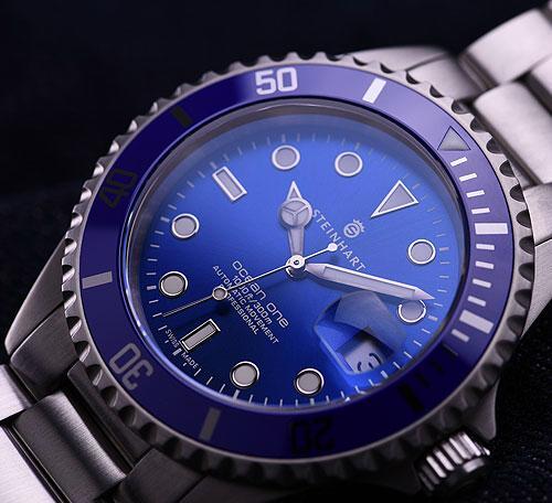 Steinhart's new Ocean One Premium Blue Steinbluedive5
