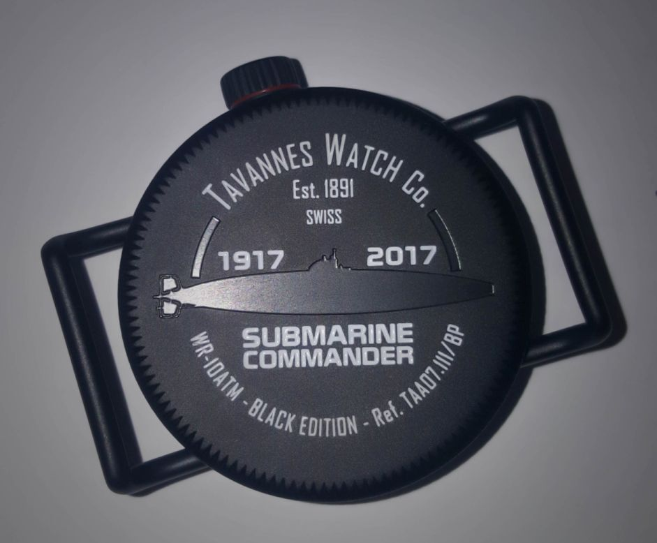 Tavannes Submarine Commander 1917, Tavannes Submarine, Tavannes Diver