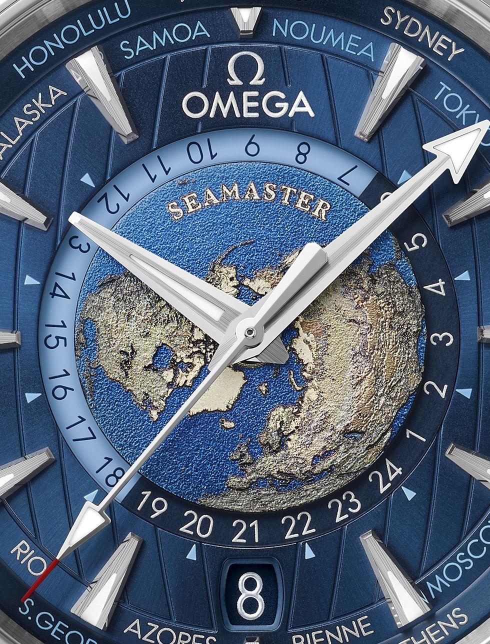 Omega Seamaster Aqua Terra Worldtimer, Omega Worldtimer, Seamaster Worldtimer