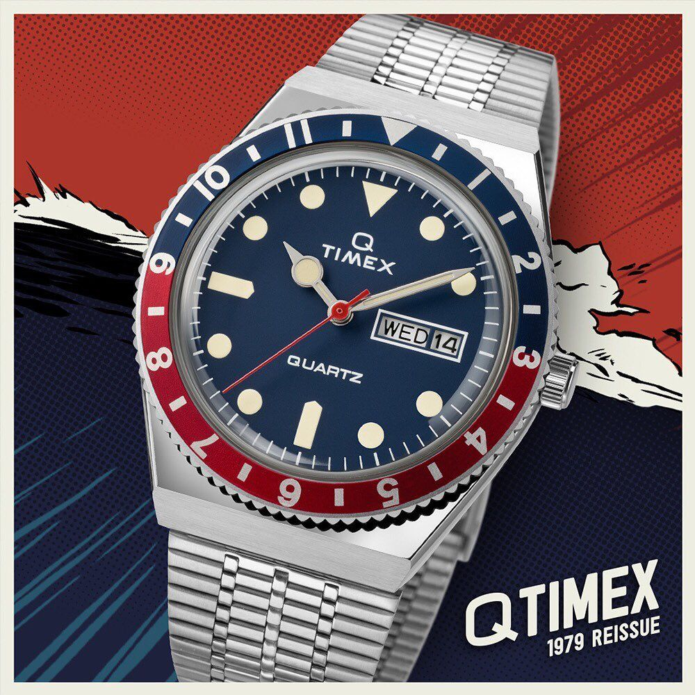 Q Timex, Timex Q Reissue, Q 1979 Reissue