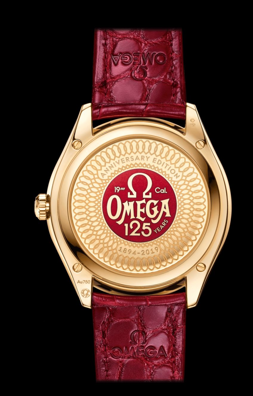 Omega De Ville Trésor 125th Anniversary Edition, Omega Tresor Red