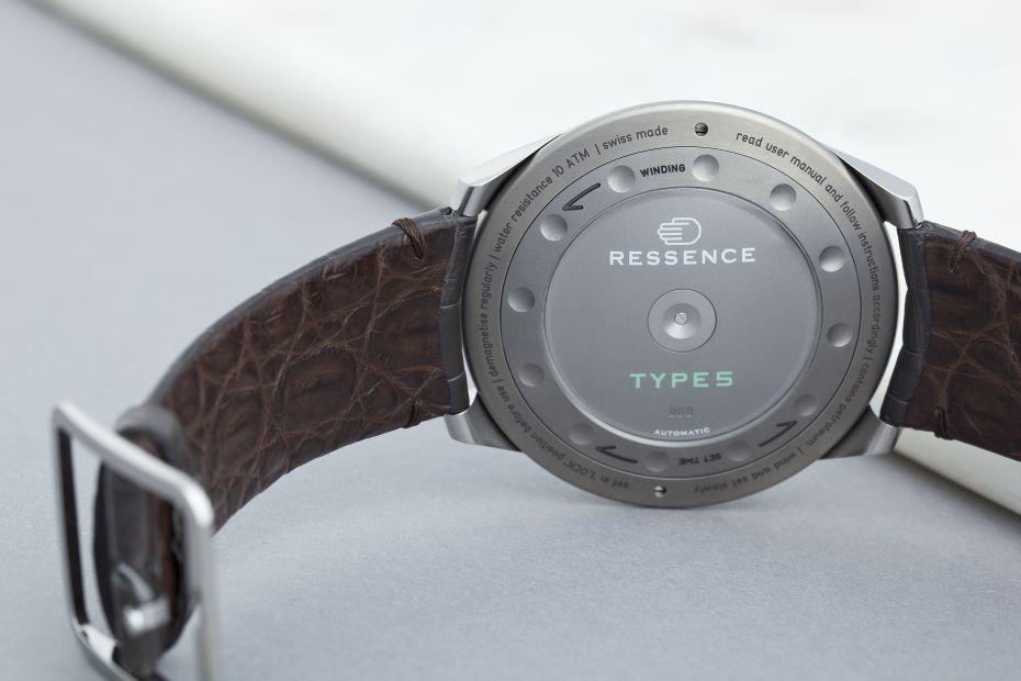 Ressence Type 5 Grey, Ressence Type 5, Ressence Type 5G