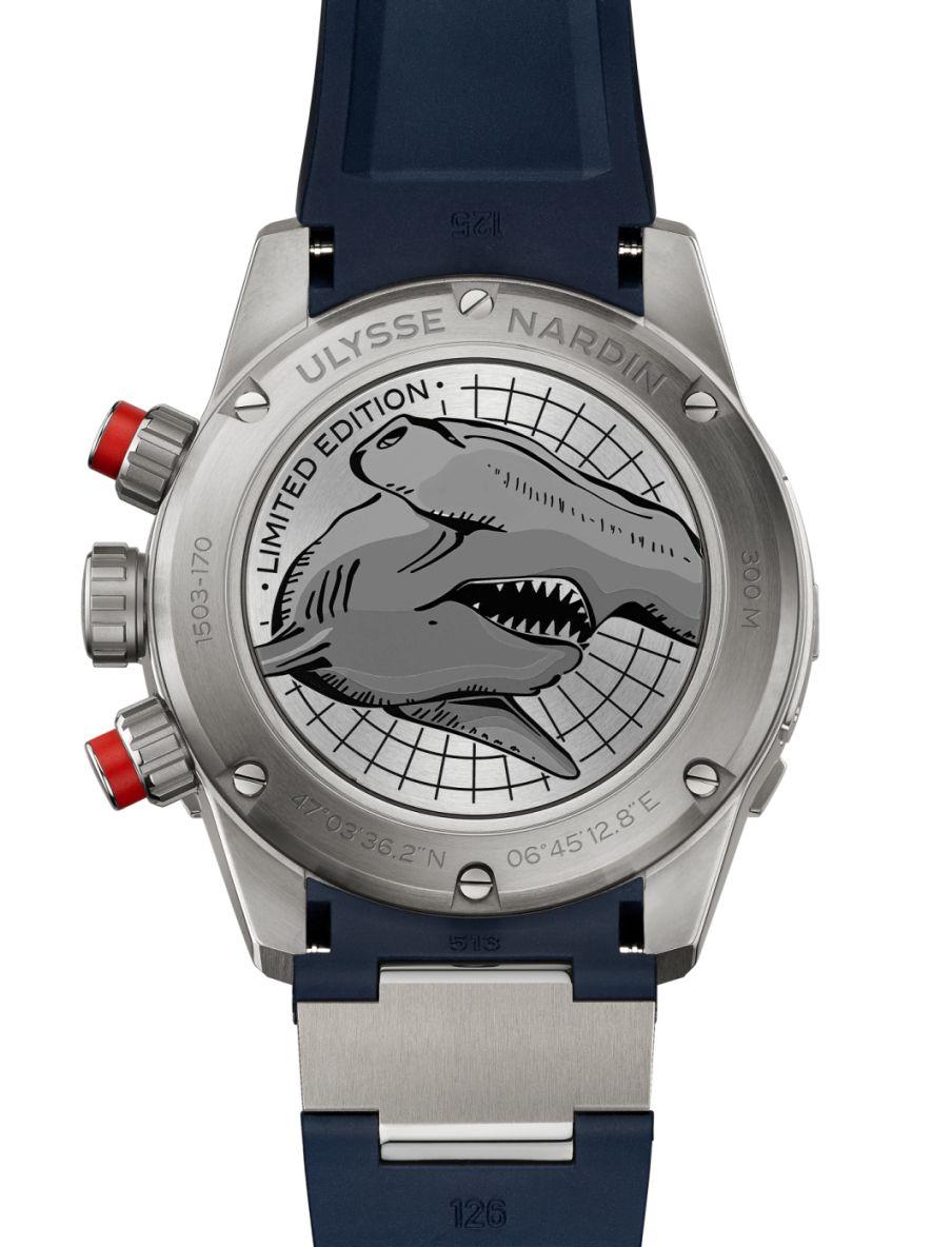 Ulysse Nardin Hammerhead Shark Chronograph,Hammerhead Shark Chronograph, UN Shark Chronograph, Shark chronograph, Ulysses Nardin shark chronograph