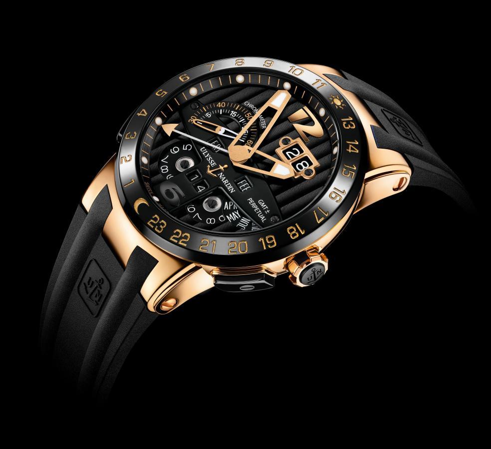 Neue Uhr : Ulysse Nardin Black Toro Perpetual Calendar ...