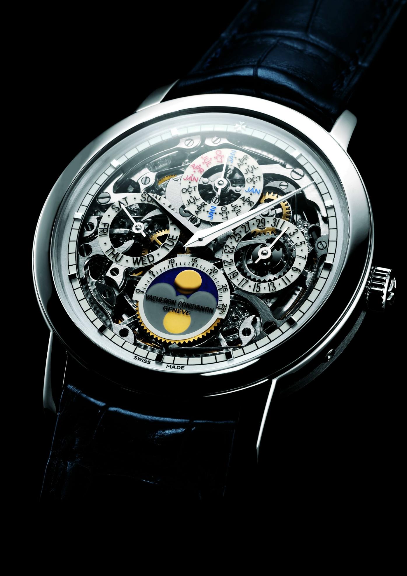 84983ae8201 TimeZone   Basel SIHH 2007 » N E W M o d e l – Vacheron Constantin  Patrimony Traditionnelle Skeleton Perpetual Calendar