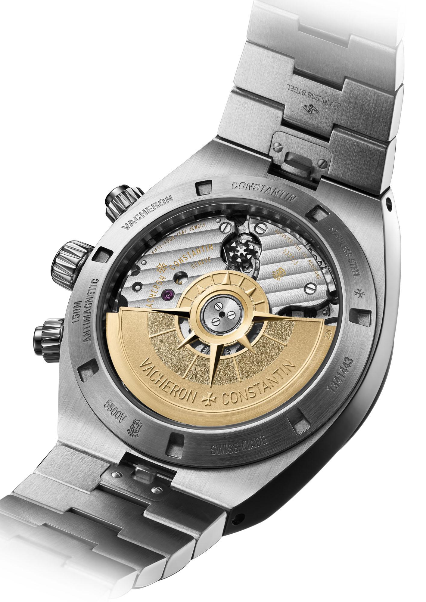 Vacheron Constantin Overseas Chronograph, Vacheron Constantin Overseas Chronograph 5500V, Vacheron 5500V, 5500V/110A-B148, 5500V/110A-B075