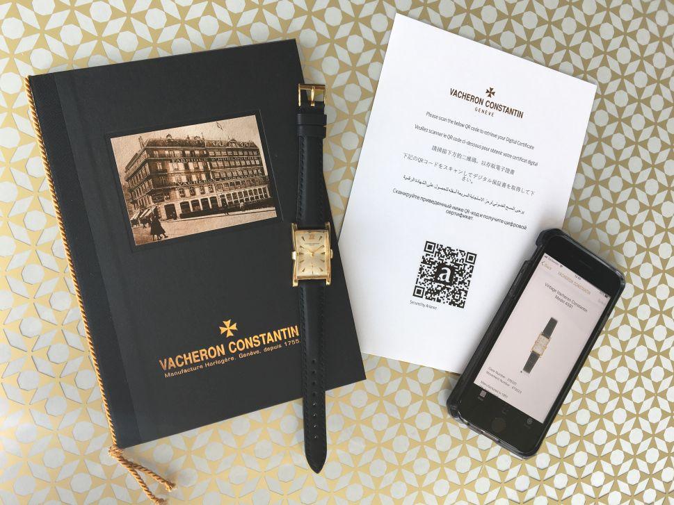 Vacheron Constantin blockchain, VC blockchain, Vacheron blockchain, Vacheron Constantin authentication