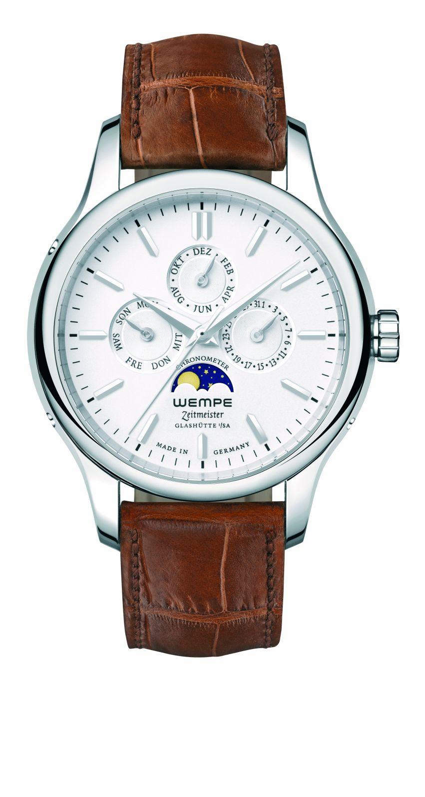 Wempe Automatic ChronometerChronograph Steel Watch