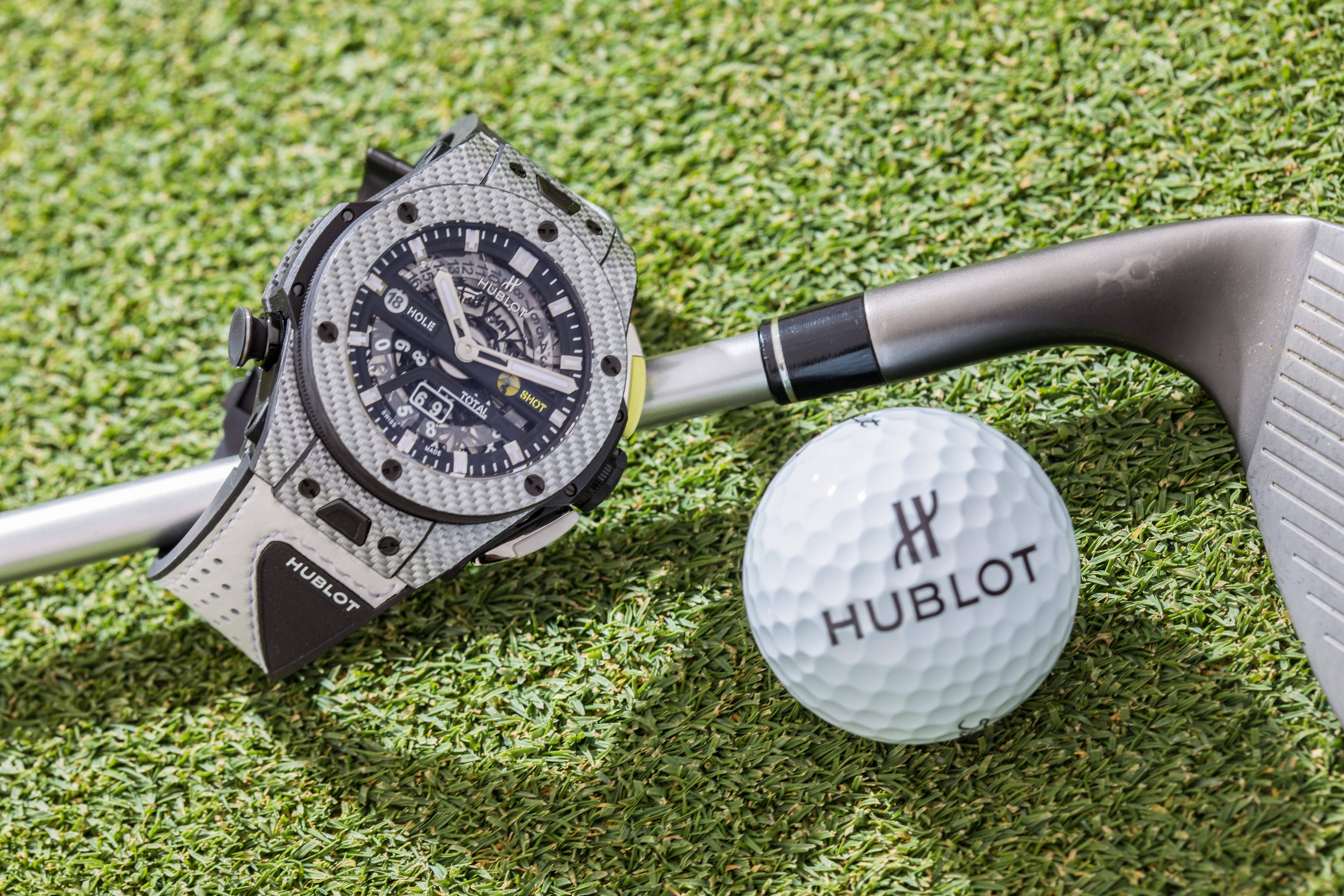 Big Bang UNICO Golf Blue Carbon, Unico Big Bang Golf Blue, Unico Big Bang Golf, Hublot Golf, Hublot Unico Golf, Hublot Big Bang Golf