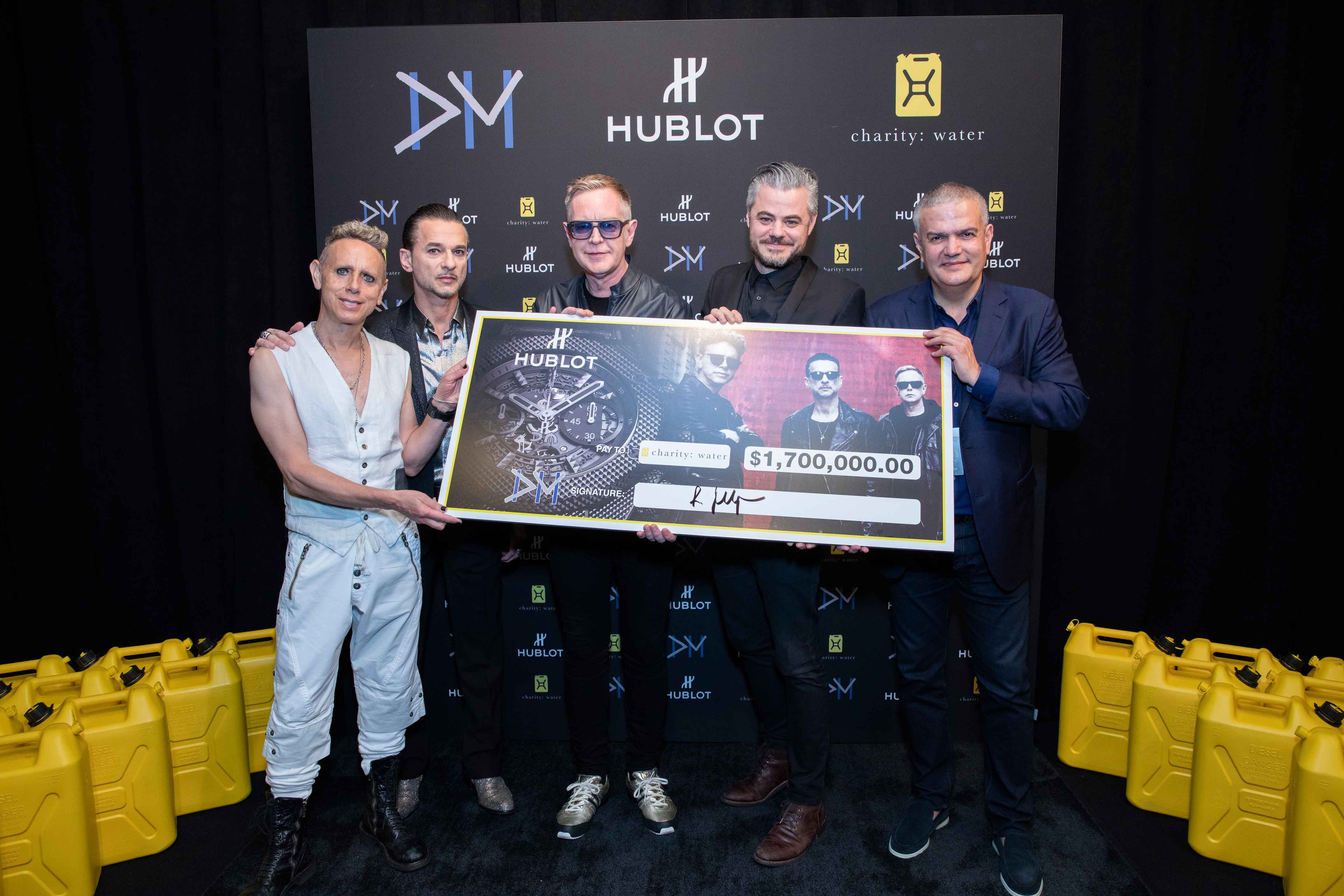 Hublot-Depeche-Mode-Charity-Water, Charity Water