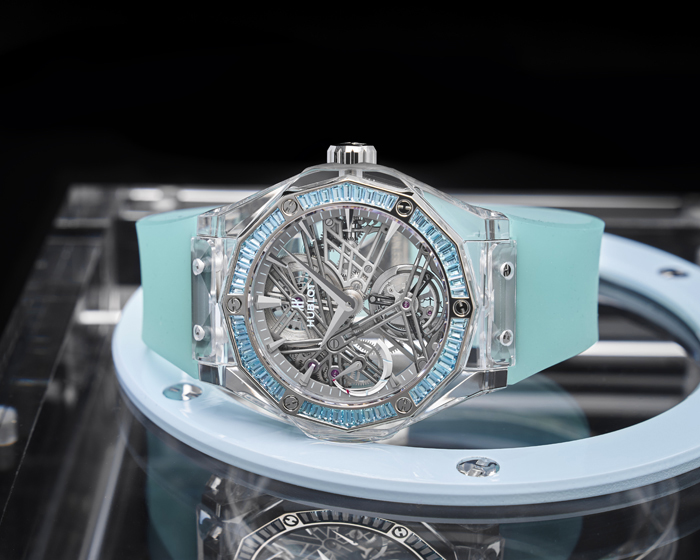 Only Watch Hublot Classic Fusion Orlinski Sapphire Tourbillon, Only Watch Hublot, Only Watch Hublot Classic Fusion Orlinski