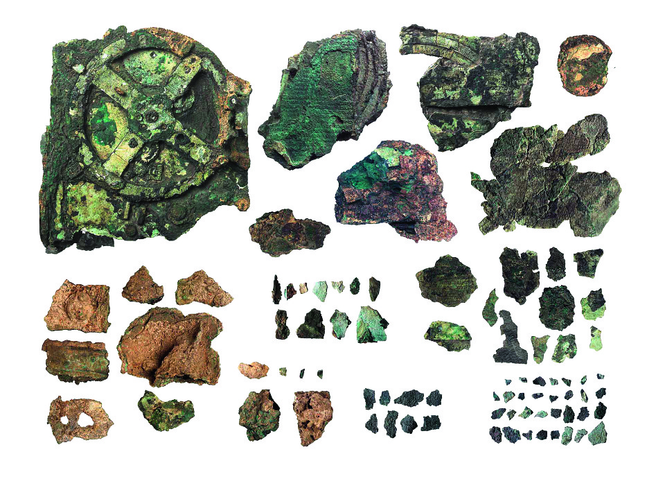 Antikythera, Antikythera mechanism