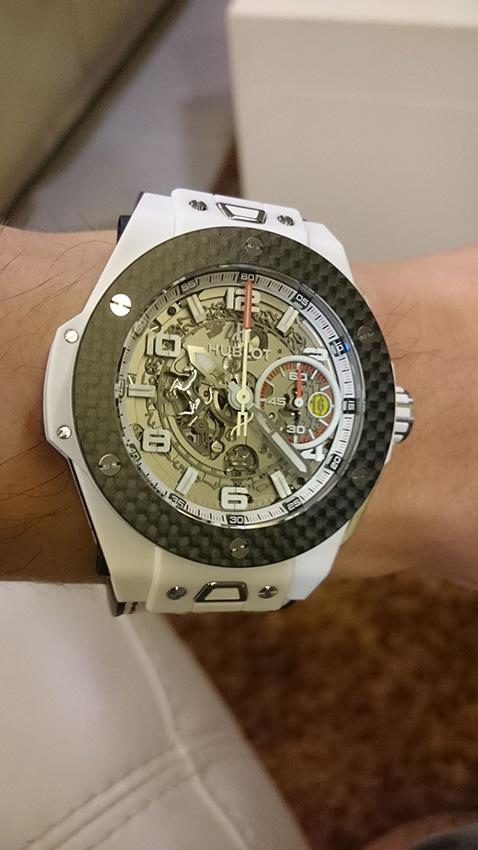 TimeZone  Hublot » My First Luxury Hublot Big Bang Ferrari