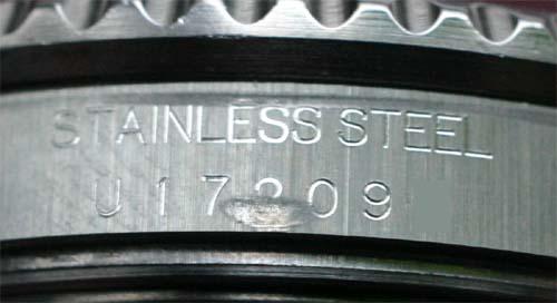 Between rolex lugs no serial number Rolex Model