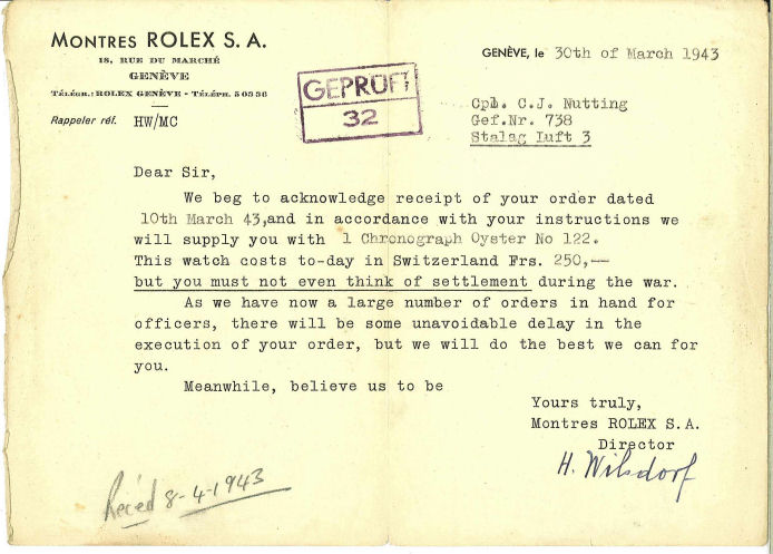 Rolex POW, les montres des prisonniers de guerre Order1sm