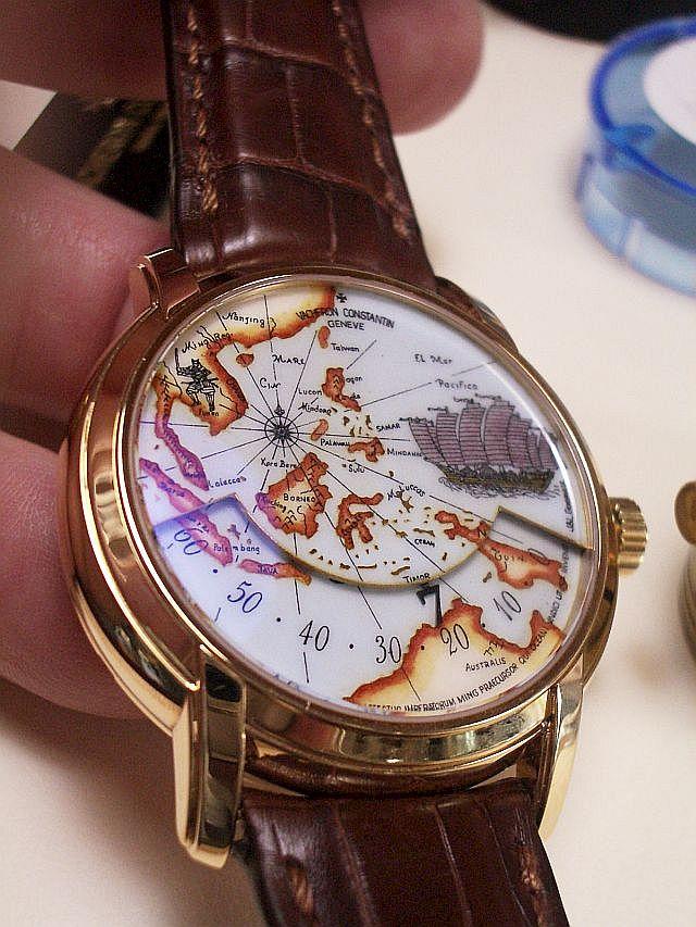 how to repair enamel watch dial
