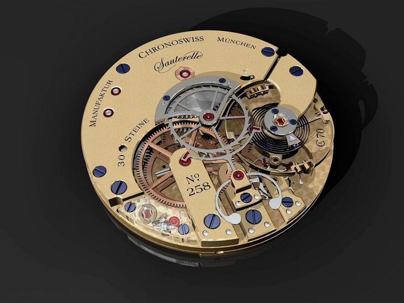 Heritage Watch Manufactory: Viator ChronoswissSauterellePress06
