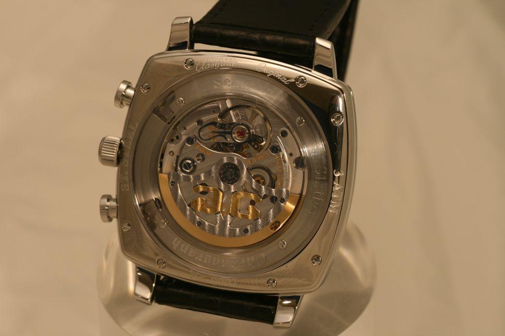 NEWS: GO Senator Sixties Square Chronograph Basel2009_GO082