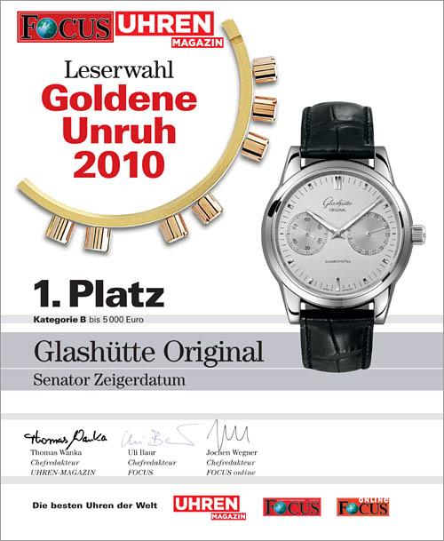Glashütte Original à Baselworld 2010 - Page 2 SenatorHandDate01