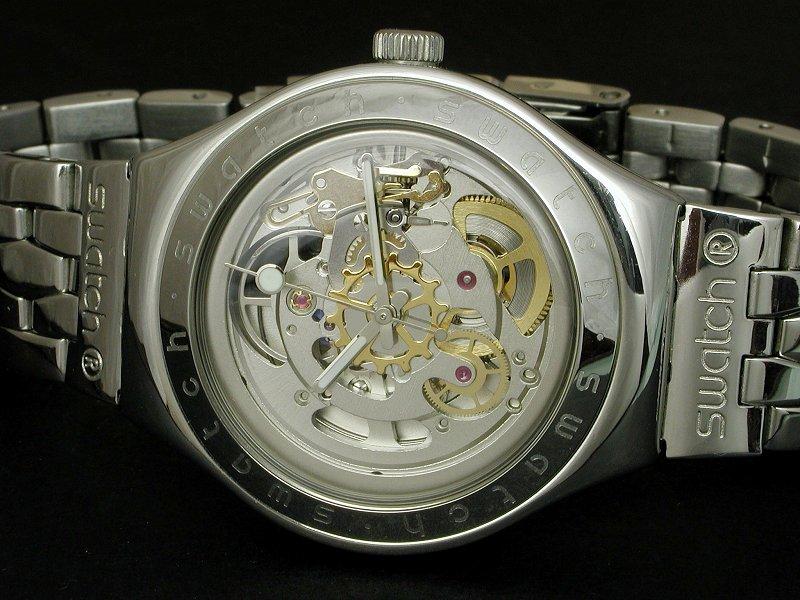 Swatch skeleton. . Подарок жены на 10-летие свадьбы. 0